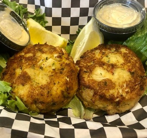 Crab Cakes from The New England Seafood Shack